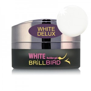 BrillBird - White Delux Builder Gel - 15ml
