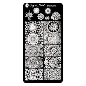 Crystal Nails - KÖRÖMNYOMDA SABLON - MANDALA