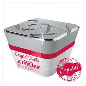 Crystal Nails - Crystal Xtreme Clear - átlátszó sűrű, legerősebb építő zselé - 50ml