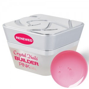 Crystal Nails - Builder Pink I. - RENEWED - rózsaszín építő zselé - 50ml